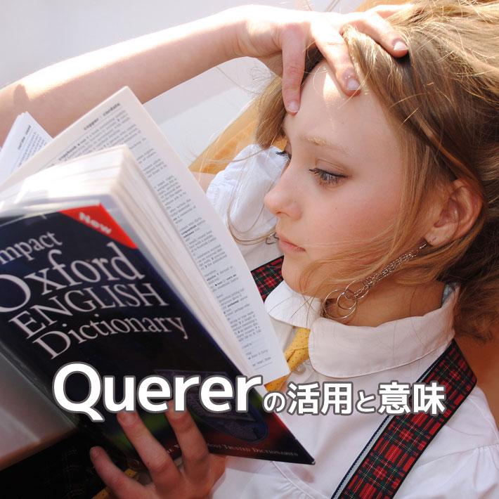 querer「欲する、愛する」の活用と意味