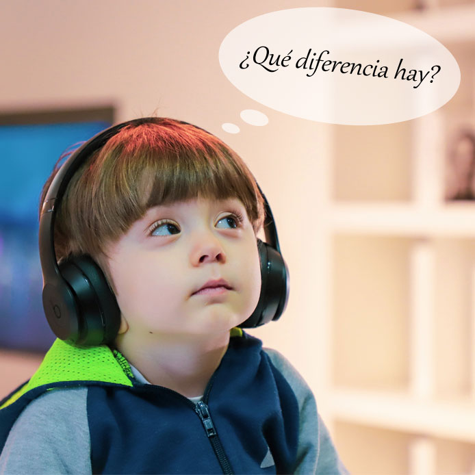 oír と escuchar の違い