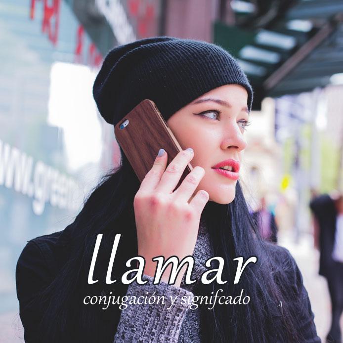 スペイン語の動詞 llamar「呼ぶ、電話をかける」の活用と意味まとめ