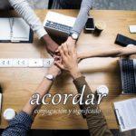 スペイン語の動詞 acordar「合意する、覚えている」の活用と意味【例文あり】