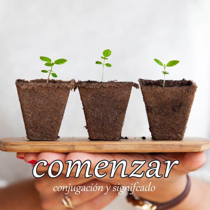スペイン語の動詞 comenzar「始める、始まる」の活用と意味【例文あり】