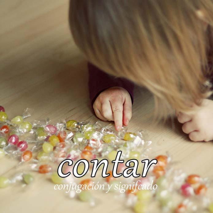 スペイン語の動詞 contar「数える、語る、みなす」の活用と意味【例文あり】