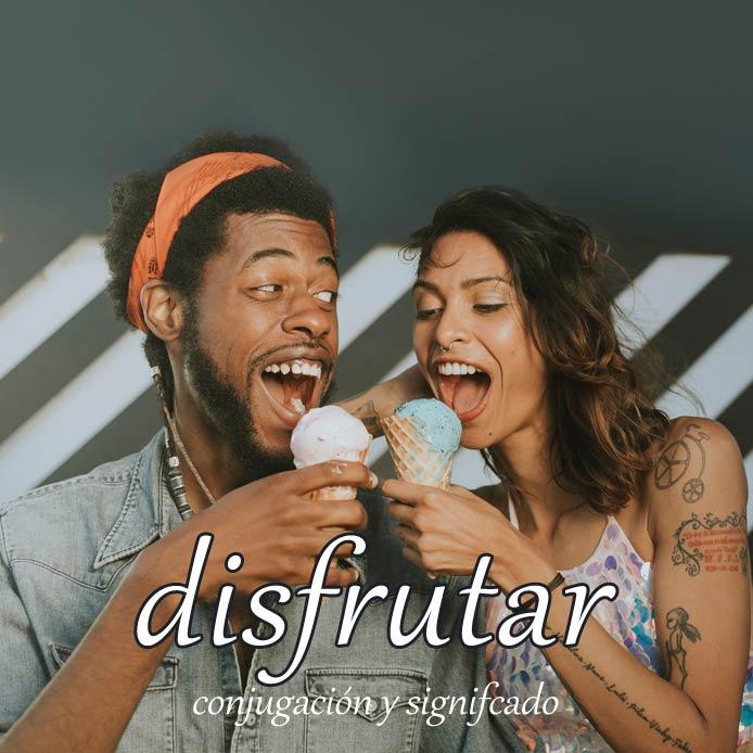 スペイン語の動詞 disfrutar「楽しむ、享受する」の活用と意味【例文あり】