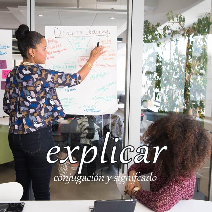 スペイン語の動詞 explicar「説明する」の活用と意味【例文あり】