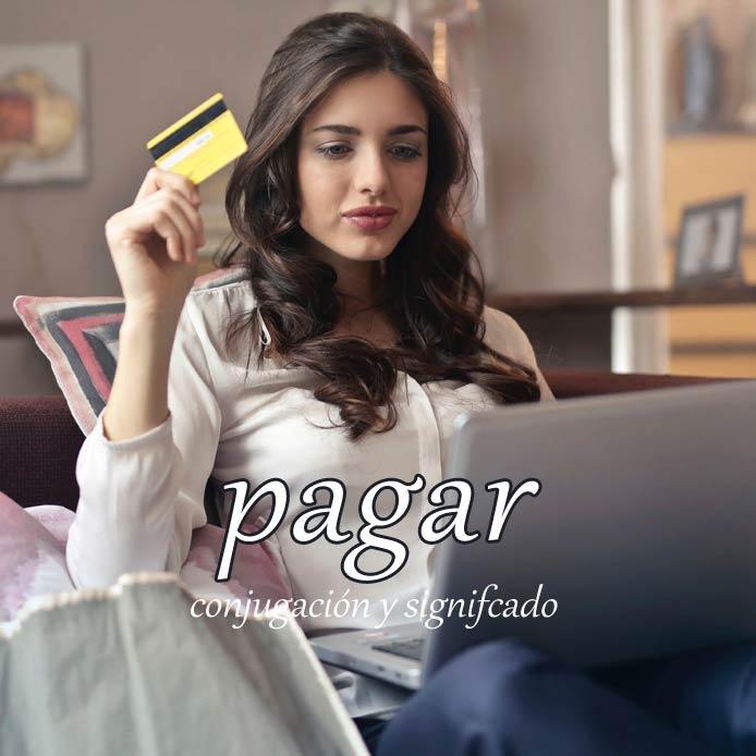 スペイン語の動詞 pagar「払う、支払う」の活用と意味【例文あり】