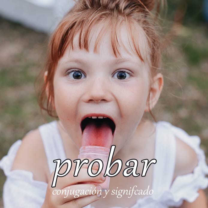 スペイン語の動詞 probar「試す、証明する」の活用と意味【例文あり】