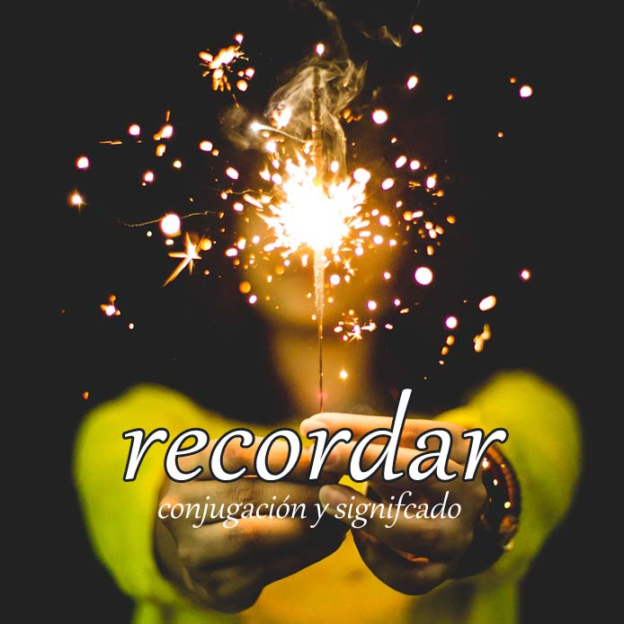 スペイン語の動詞 recordar「覚えている、思い出す」の活用と意味【例文あり】