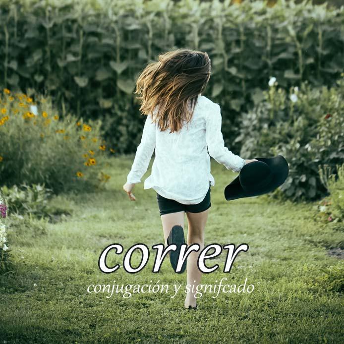 スペイン語の動詞 correr「走る、急ぐ、流れる」の活用と意味【例文あり】