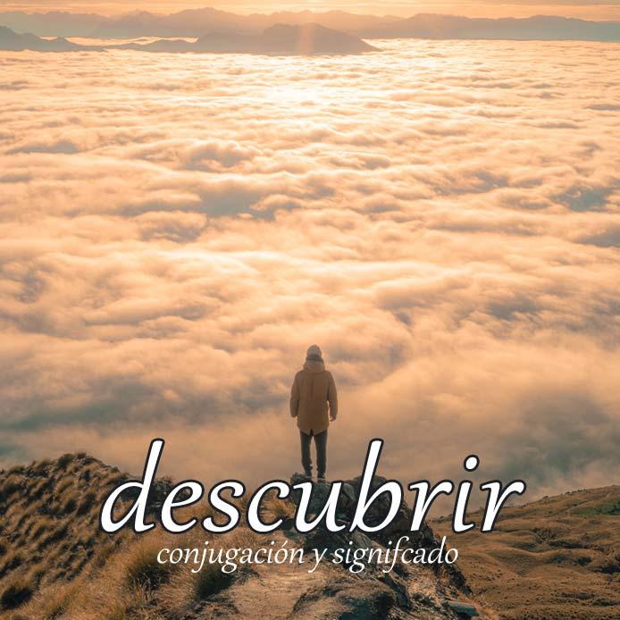 スペイン語の動詞 descubrir「発見する、覆いを取る」の活用と意味【例文あり】