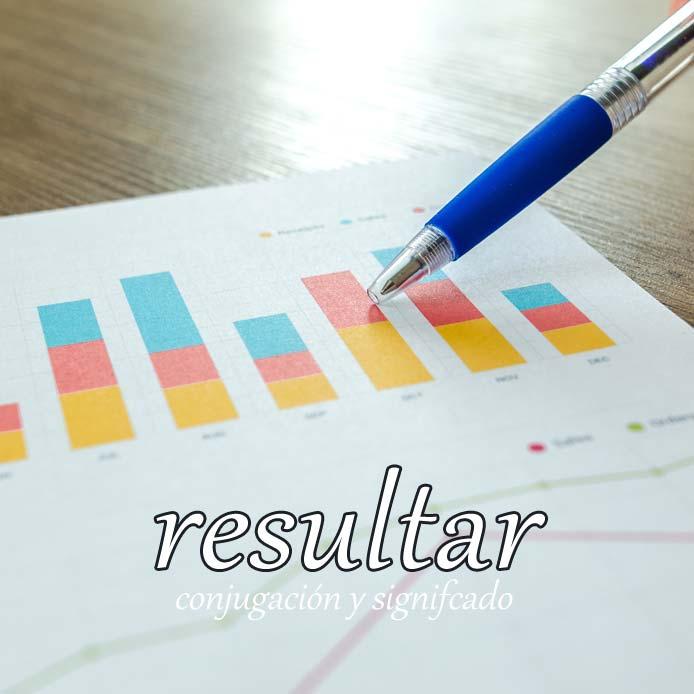 スペイン語の動詞 resultar「~という結果になる」の活用と意味【例文あり】