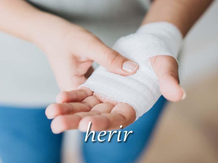 スペイン語の動詞 herir「傷つける」の活用と意味【例文あり】