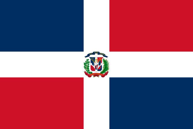 ドミニカ共和国国旗
