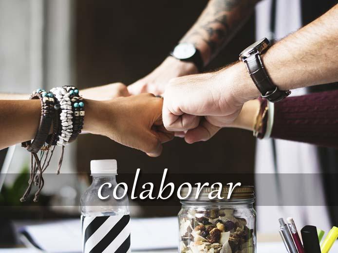 スペイン語の動詞 colaborar「協力する」の活用と意味【例文あり】