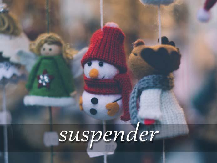 スペイン語の動詞 suspender「中止する、つるす」の活用と意味【例文あり】