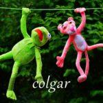 スペイン語の動詞 colgar「吊るす、ぶら下がる」の活用と意味【例文あり】