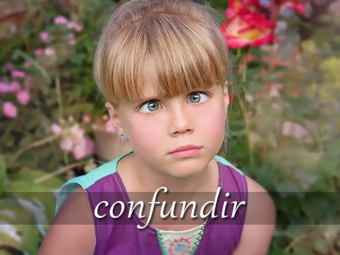 スペイン語の動詞 confundir「混同する、混乱させる」の活用と意味【例文あり】