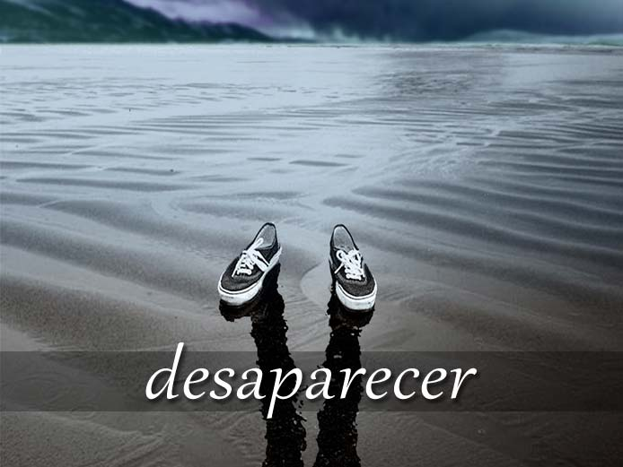 スペイン語の動詞 desaparecer「消える、なくなる」の活用と意味【例文あり】