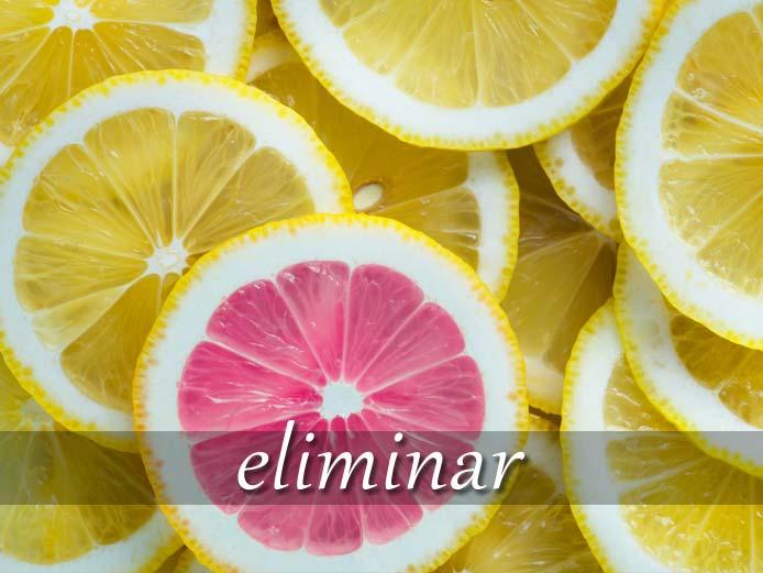 スペイン語の動詞 eliminar「排除する、予選で落とす」の活用と意味【例文あり】