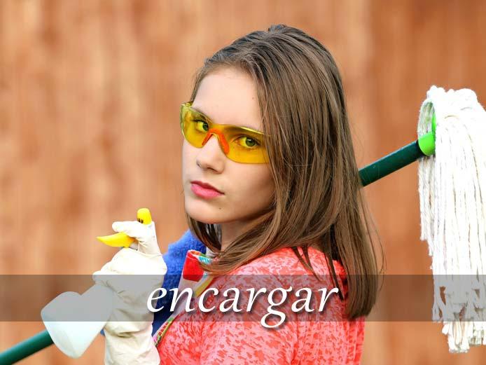スペイン語の動詞 encargar「任せる、~するように頼む」の活用と意味【例文あり】