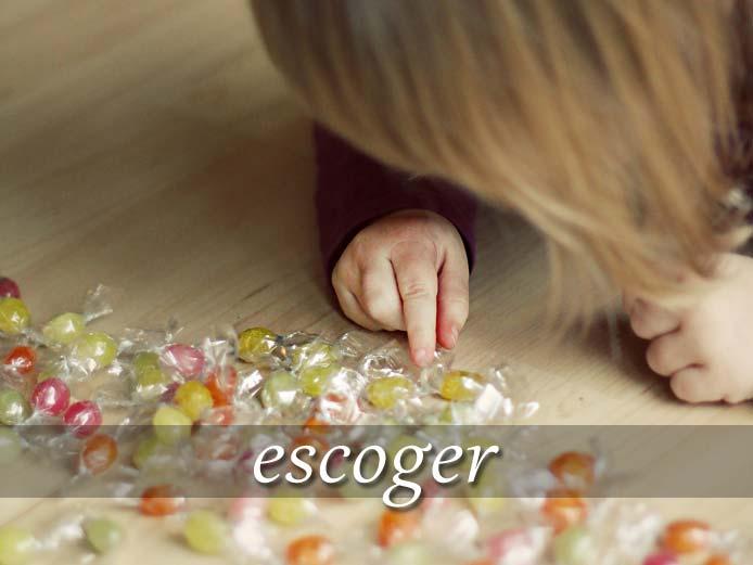 スペイン語の動詞 escoger「選ぶ、選び出す」の活用と意味【例文あり】
