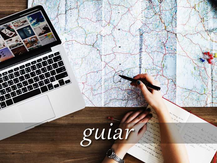 スペイン語の動詞 guiar「案内する、導く」の活用と意味【例文あり】