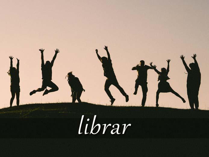 スペイン語の動詞 librar「解放する、休みを取る」の活用と意味【例文あり】