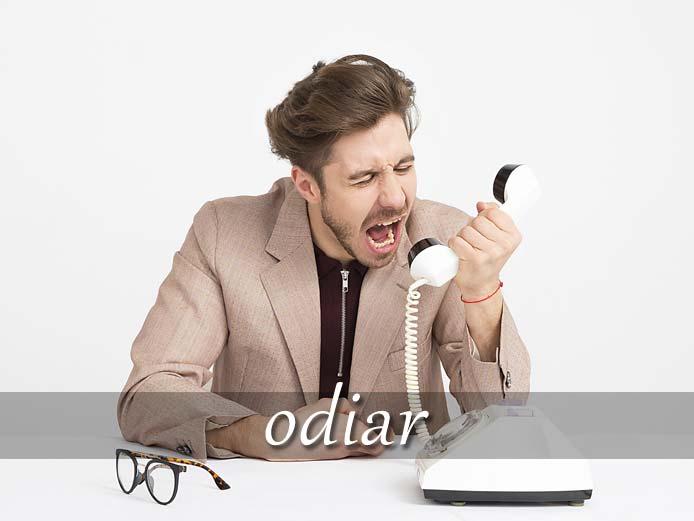 スペイン語の動詞 odiar「憎む、嫌う」の活用と意味【例文あり】