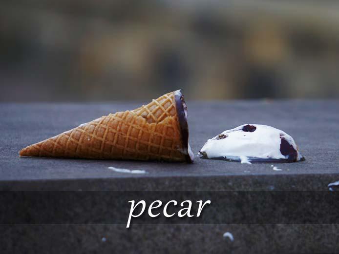 スペイン語の動詞 pecar「罪を犯す、過ちをする」の活用と意味【例文あり】