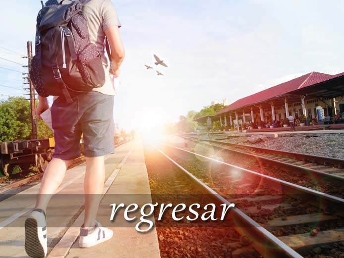 スペイン語の動詞 regresar「帰る、戻る」の活用と意味【例文あり】