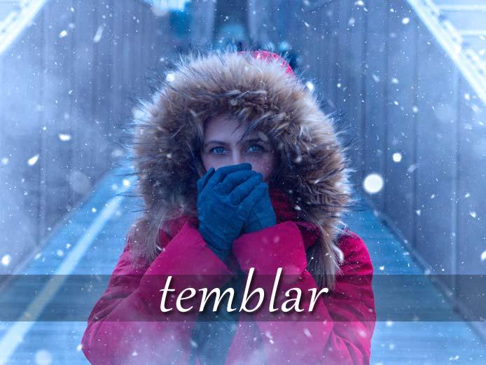 スペイン語の動詞 temblar「震える、揺れる」の活用と意味【例文あり】
