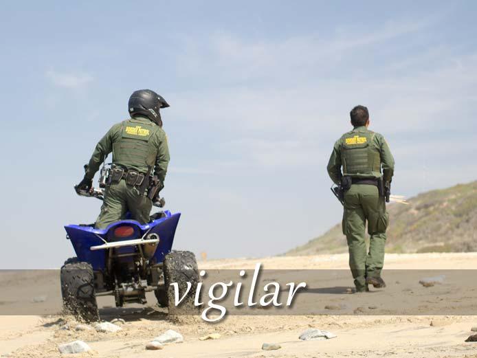スペイン語の動詞 vigilar「監視する、用心する」の活用と意味【例文あり】