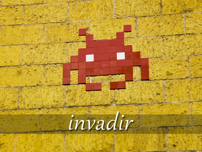 スペイン語の動詞 invadir「侵入(侵略)する」の活用と意味【例文あり】