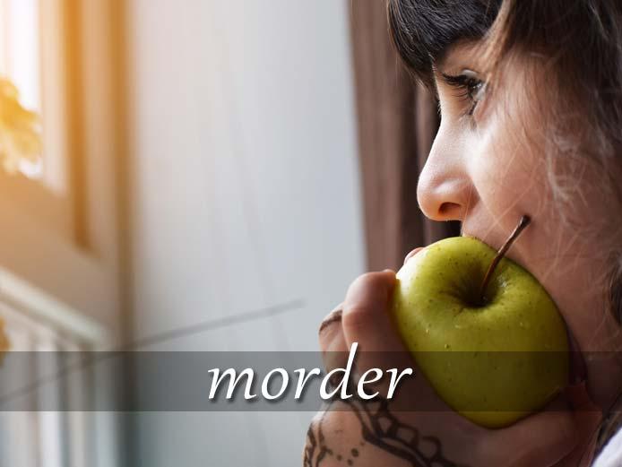 スペイン語の動詞 morder「かみつく、かじる」の活用と意味【例文あり】