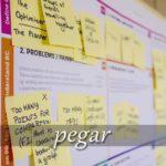スペイン語の動詞 pegar「くっつける」の活用と意味【例文あり】