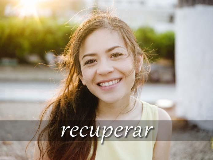 スペイン語の動詞 recuperar「回復する、取り戻す」の活用と意味【例文あり】