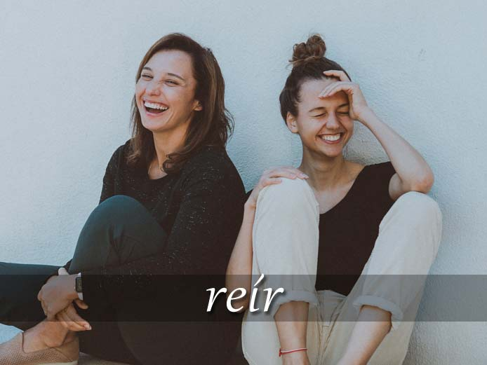 スペイン語の動詞 reír「笑う」の活用と意味【例文あり】