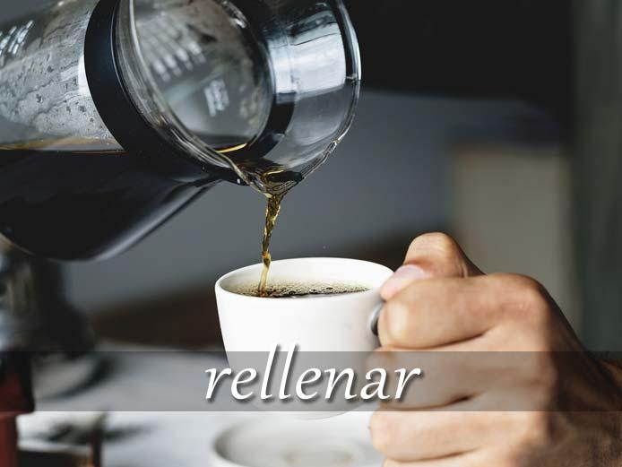 スペイン語の動詞 llenar「いっぱいにする、詰める」の活用と意味【例文あり】