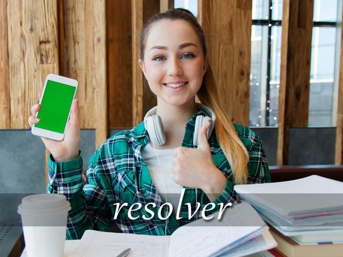 スペイン語の動詞 resolver「解決する、決心する」の活用と意味【例文あり】