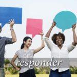 スペイン語の動詞 responder「答える、応える」の活用と意味【例文あり】