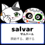 スペイン語の動詞 salvar「救助する、避ける」の活用と意味【例文あり】